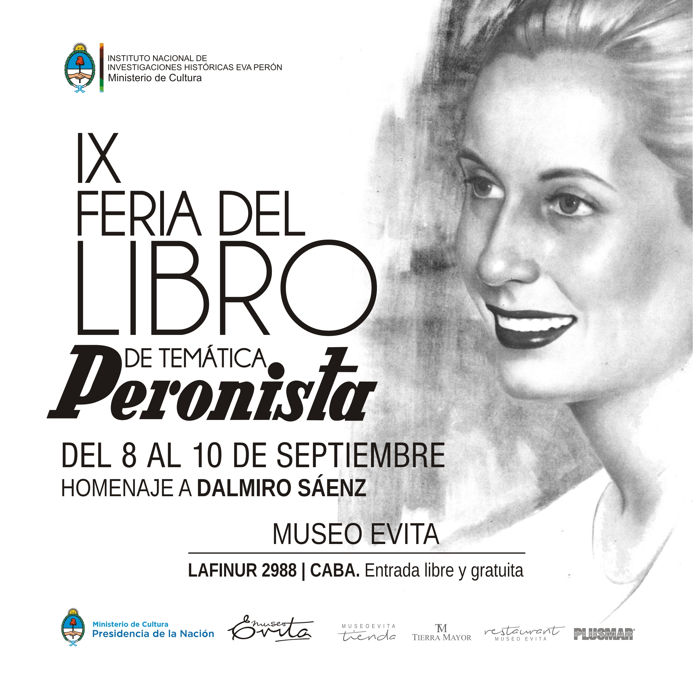 IX Feria del Libro de Temática Peronista