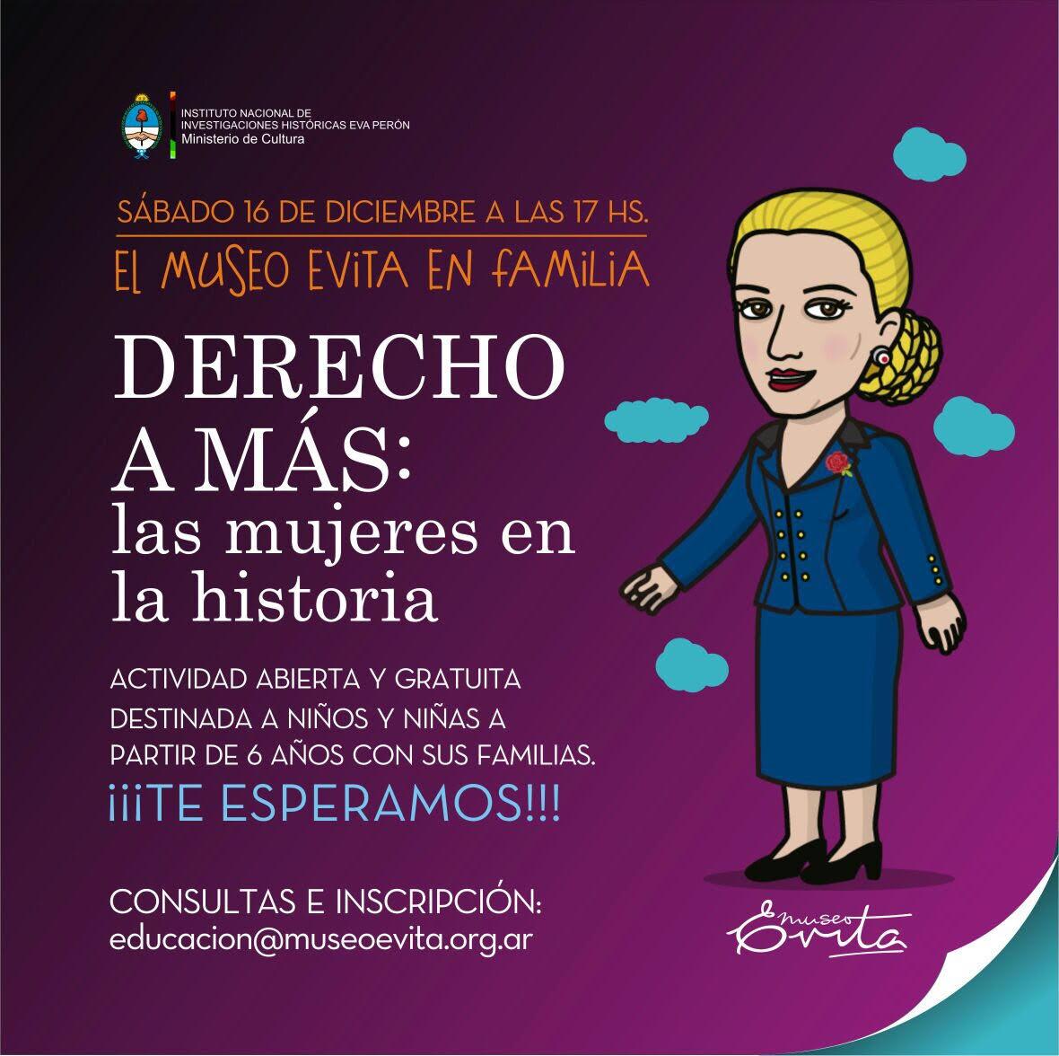 Derecho a más: las mujeres en la historia