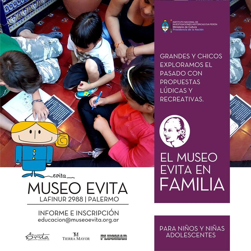 """Visita- taller """"El museo en familia: Recorrida de cuentos"""""""