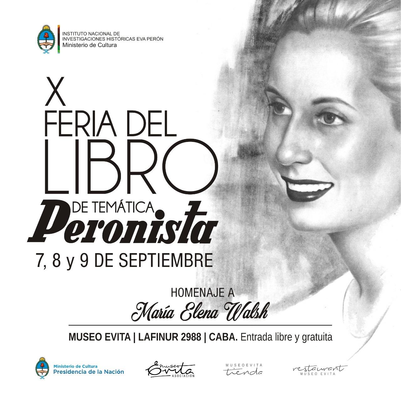 X Feria del Libro Temática Peronista