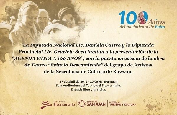 100 años del nacimiento de Evita