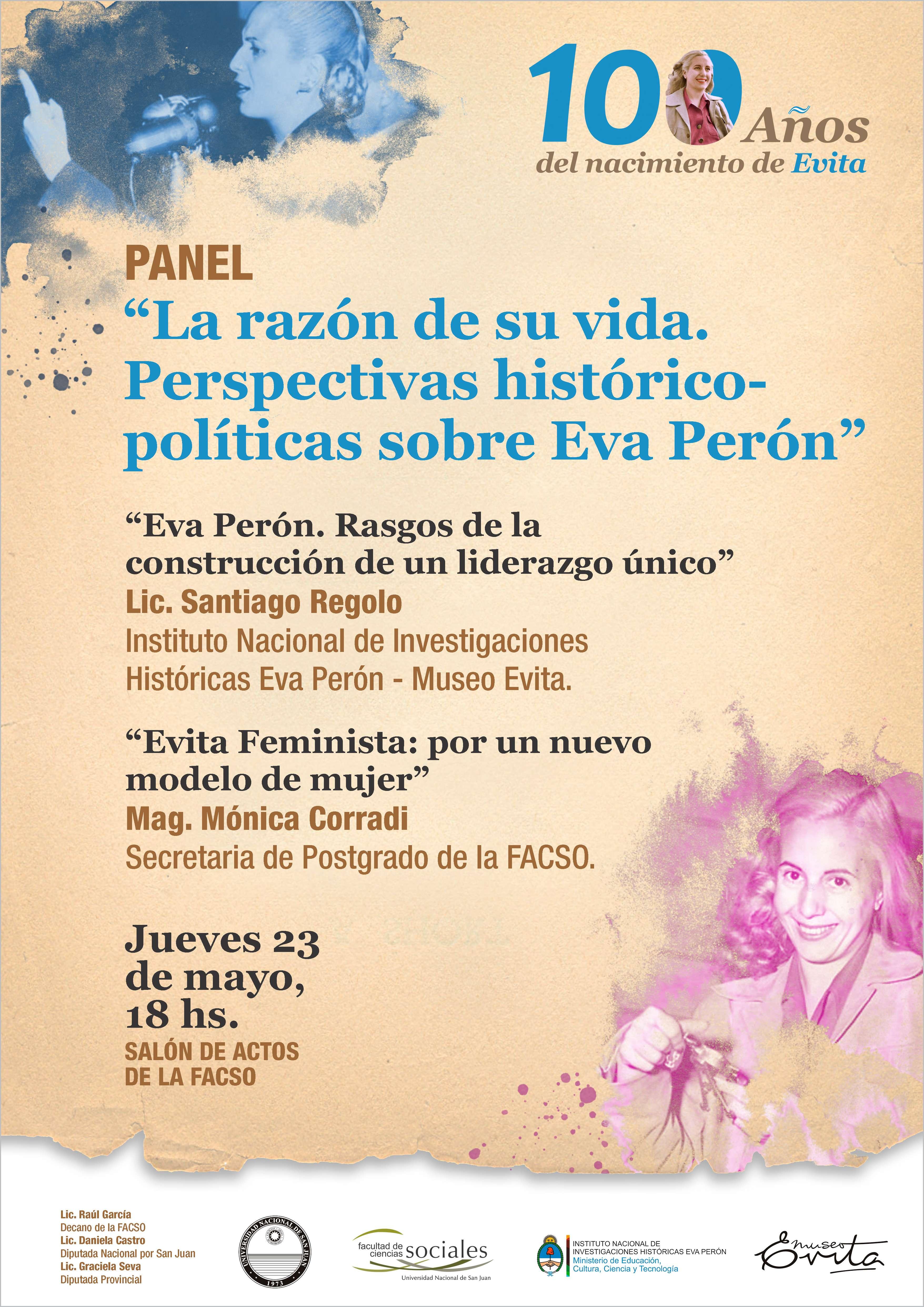 La razón de su vida. Perspectivas histórico-políticas sobre Eva Perón