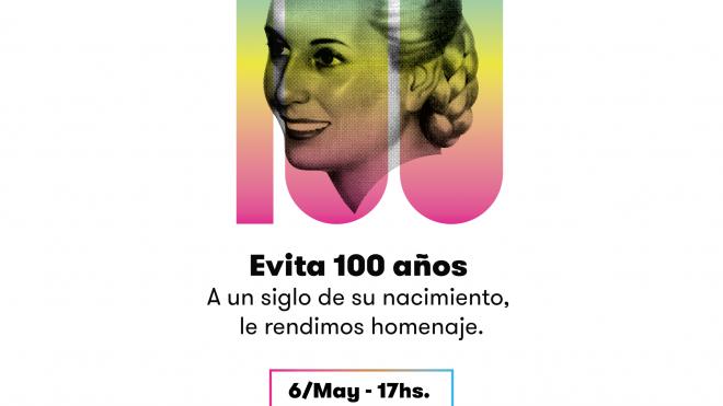 #Evita100Años