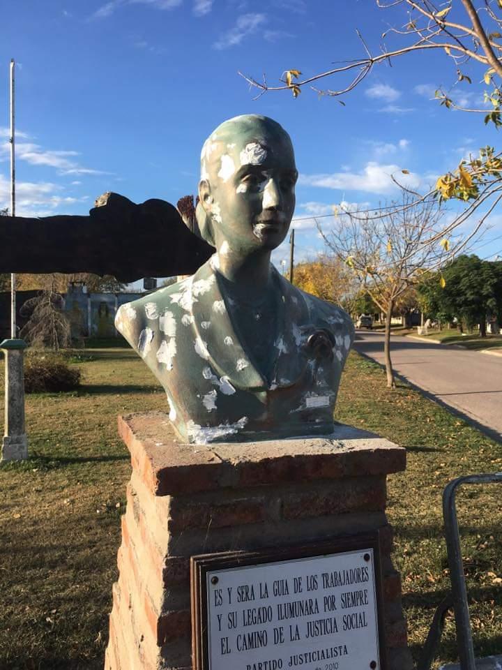 Centenario del nacimiento de Evita en Guaminí