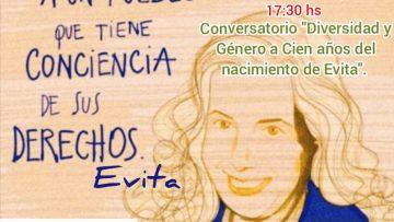 diversidad y género a cien años del nacimiento de Evita