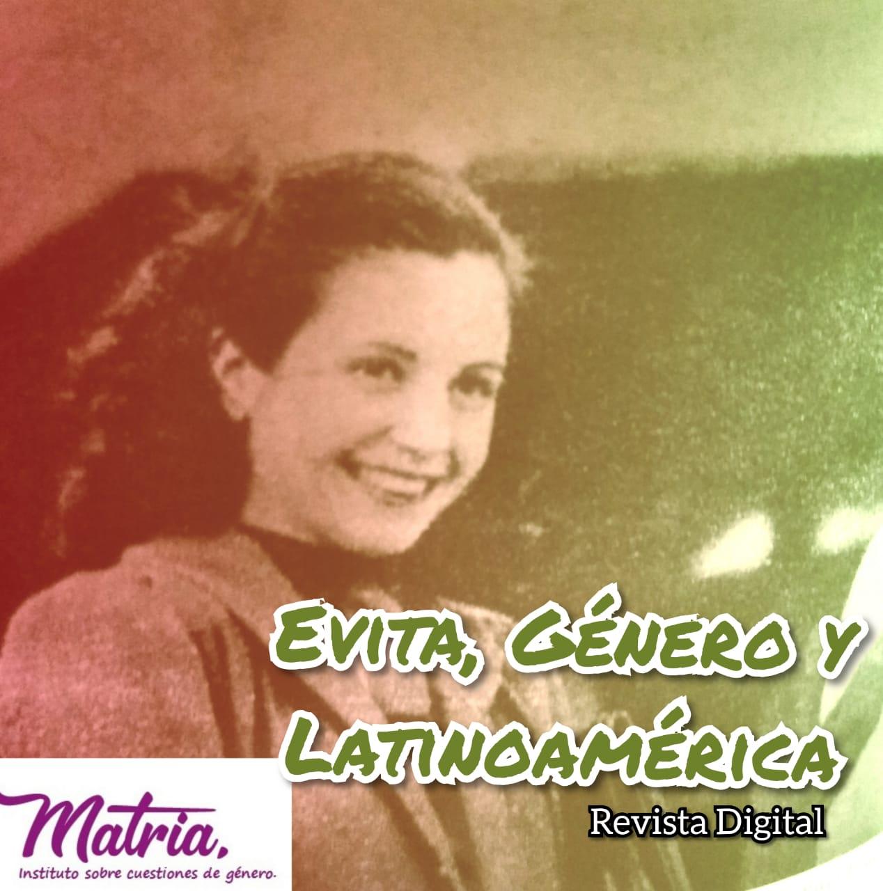 """lanzamiento revista digital """"Evita, Género y Latinoamérica"""""""