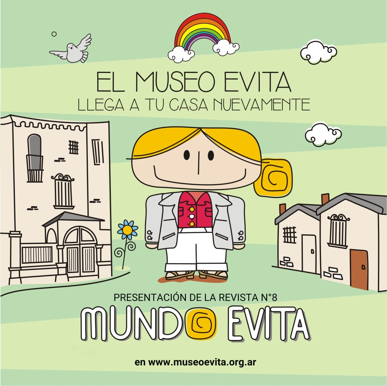 Novena edición. El Museo Evita Llega a tu Casa